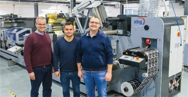 The latest label converting technology - ABG DIGICON3