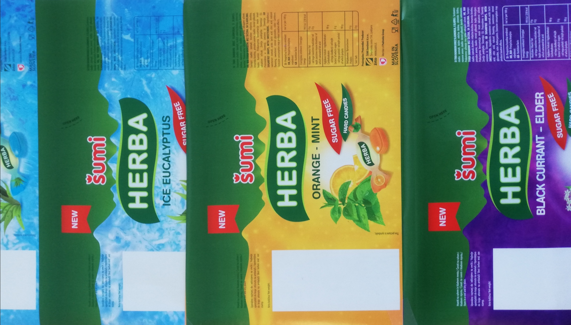 The legendary Šumi´s Herba has more environmentally friendly packaging