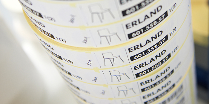Logistics and packaging labels