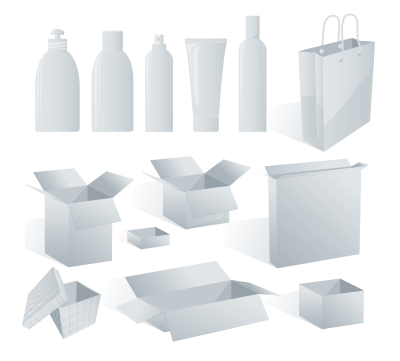 Glass and plastic bottles, plastic cups and tubes, cardboard boxes and cases, bags, etc. Primary packaging can be printed directly (larger quantities) or equipped with a label.